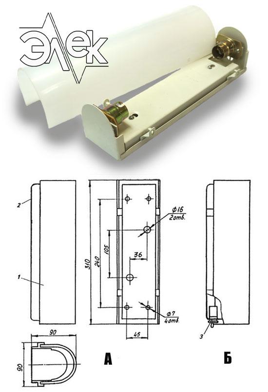 СС-844 судовой светильник переборочный характеристики СС 844, СС-844Б, 844Б, цена фото каталог судовых корабельных светильников