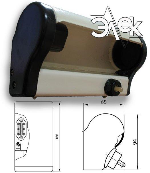 СС-854 судовой светильник прикроватный характеристики СС 854, СС-854Е, 854Е, цена фото каталог судовых корабельных светильников