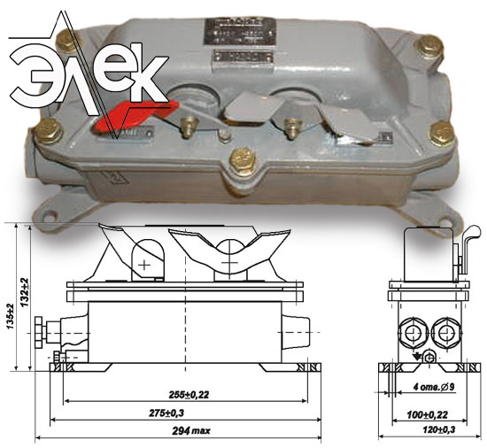 Пост КУ 123 32 кнопочный пост управления КУ-123 3 КУ123 В2 характеристики описание продажа купить цена
