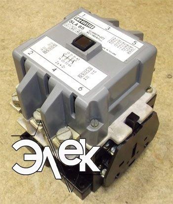 Фото контактор SLA-85 внешний вид SLA 85 картинка (изображение) купить, цена, характеристики