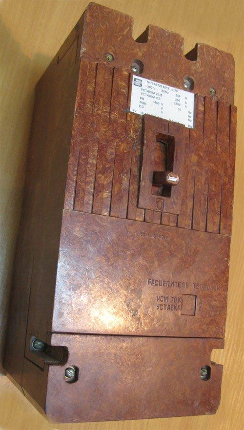 А3722 выключатель автоматический А 3722 (А-3722) характеристики, цена, купить (автомат А 3722) 160А, 200А, 250А