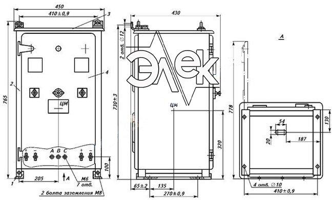 ВАКЗ-2-40-2И ВАКЗ 2 40 2И выпрямитель зарядный агрегат выпрямительный характеристики, описание, цена продажа
