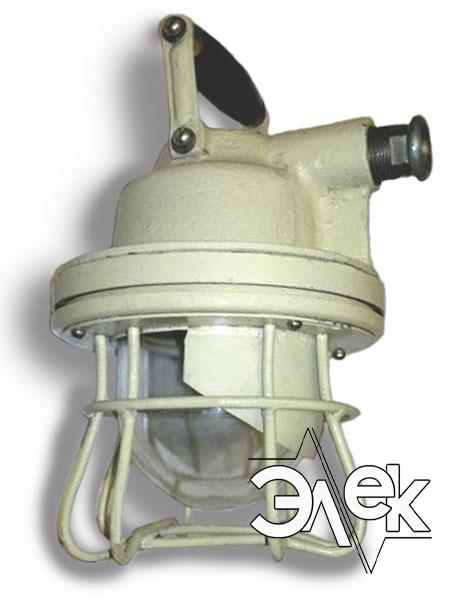 Судовой светильник ВЗГ-25, ВЗГ 25 ВЗГ25 взрывозащищенный взрывобезопасный характеристики, цена фото каталог судовых корабельных светильников