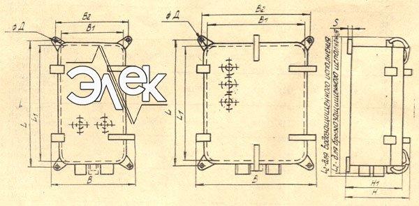 Пускатель ПММ-2111, ПММ-Д 2111 габаритные и установочные размеры, характеристики, купить магнитный пускатель