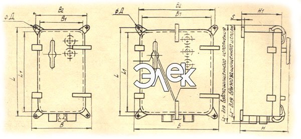 Пускатель ПММ-1124, ПММ-Д 1124 габаритные и установочные размеры, характеристики, купить магнитный пускатель