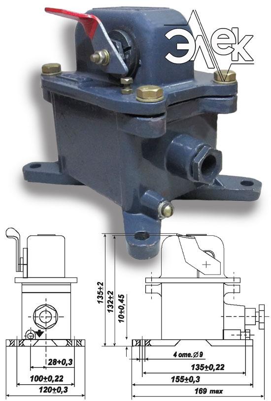 Пост КУ 123 11 кнопочный пост управления КУ-123 1 КУ123 В2 характеристики описание продажа купить цена
