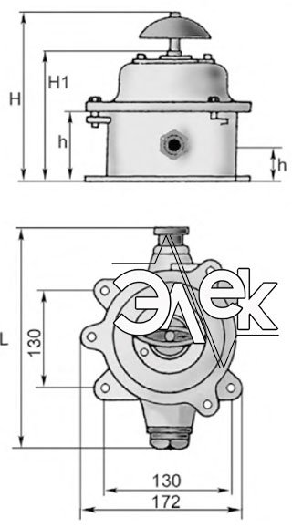 Герметичный пакетный выключатель 60А ГПВ3-60 купить цена, характеристики, выключателя в корпусе ГПВ 3 60
