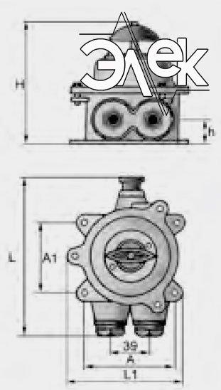 герметичный пакетный переключатель в корпусе 10А ГПП2-10 купить цена, характеристики переключателя в корпусе ГПП 2 10