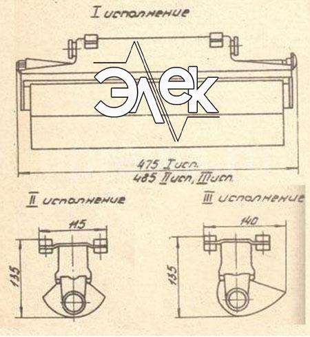 СС-12Б судовой светильник пультовый характеристики СС 12Б, цена фото каталог судовых корабельных светильников