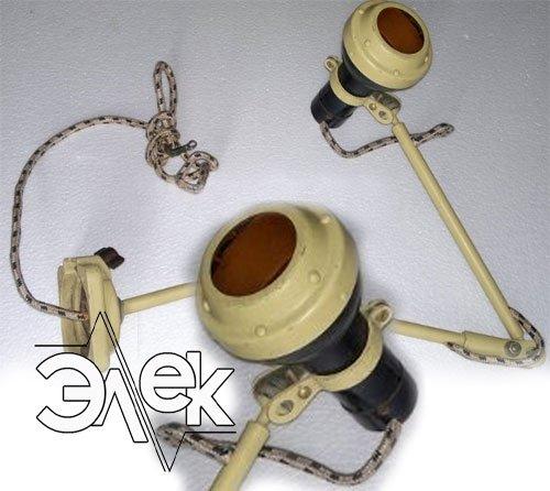 Катерный штурманский судовой светильник 65Б, СС-65Б характеристики, цена фото каталог судовых корабельных светильников
