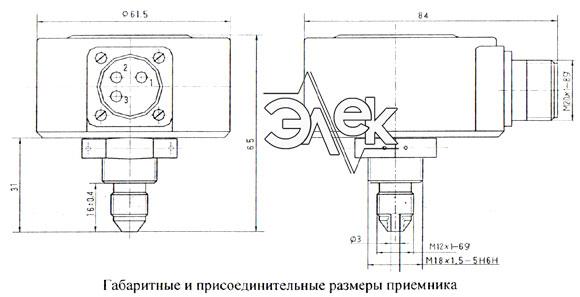 ПД 1 6 27 прибор ПД1 6 27в электромонтажная схема соединения паспорт сертификат инструкция габаритные размеры