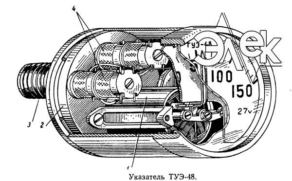 Термометр ТУЭ 48 универсальный электрический термометр сопротивления ТУЭ-48 электромонтажная схема соединения паспорт сертификат ТУЭ48 инструкция