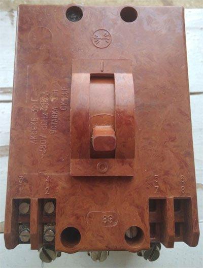 АК50КБ-3МГ выключатель автоматический (АК 50КБ-3МГ) характеристика, цена, купить (автомат АК50КБ -3 МГ)