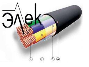 Кабель МКШ 7х0,5 кабель монтажный, не экранированный купить цена характеристики 7*0,5 без экрана