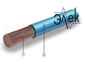 Кабель ПВ 4 провод установочный гибкий ПВ4 характеристики ПВ-4 описание цена продажа расшифровка